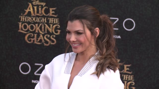 Ali Landry at the 'Alice Through The Looking Glass' Los Angeles Premiere at the El Capitan Theatre on May 23 2016 in Hollywood California