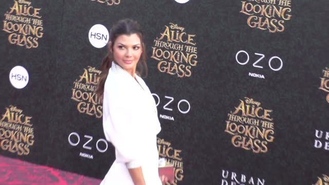 Ali Landry at the Premiere Of Disney's Alice Through The Looking Glass at El Capitan Theatre in Hollywood in Celebrity Sightings in Los Angeles