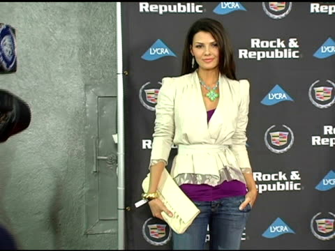 Ali Landry at the Rock and Republic '05 Fall Fashion Show Presented By Cadillac at Sony Studios in Culver City California on March 18 2005
