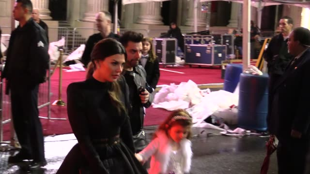 Ali Landry Estela Ines Monteverde depart the Cinderella Premiere in Hollywood in Celebrity Sightings in Los Angeles
