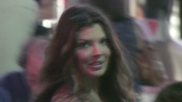Ali Landry leaving the Zookeeper Premiere in Westwood