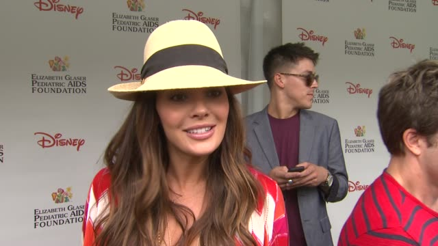 Ali Landry on how she feels to be at the 22nd Annual Time for Heroes Celebrity Picnic why she wanted to come and support why she comes to this event...