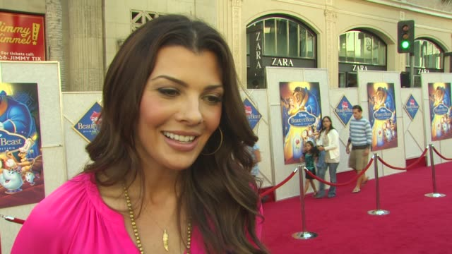 Ali Landry on if her daughter has seen the movie what her favorite song is if she will be singing it today