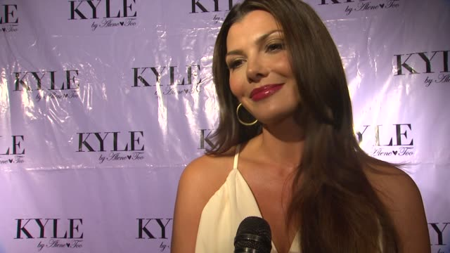 Ali Landry on why she wanted to come support Kyle if she will be doing any shopping being a huge fan of the Real Housewives of Beverly Hills and...