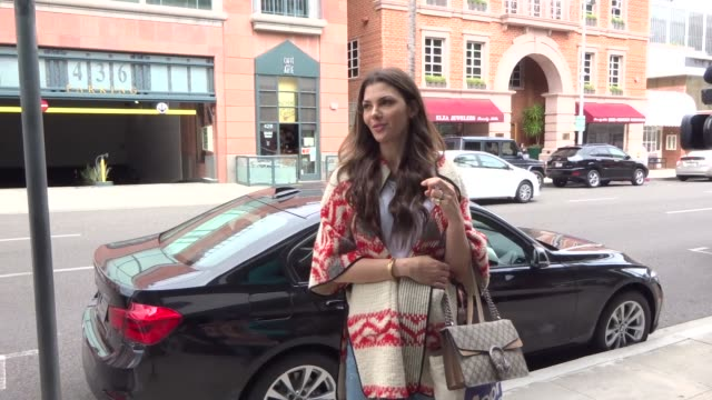 INTERVIEW Ali Landry talks about the IKEA bag fashion line while shopping in Beverly Hills in Celebrity Sightings in Los Angeles