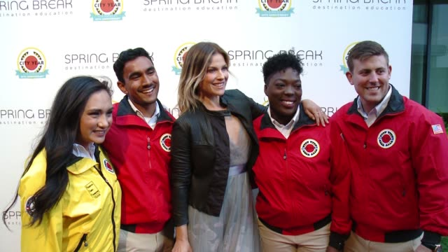 ali larter at city year los angeles spring break in los angeles ca - ali larter stock videos and b-roll footage