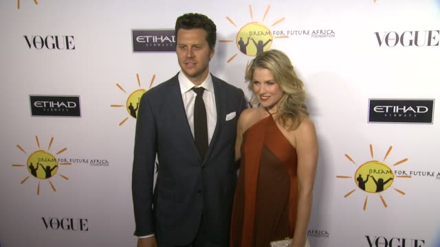 ali larter at gelila and wolfgang puck's dream for future africa foundation gala in beverly hills ca on - ali larter stock videos & royalty-free footage