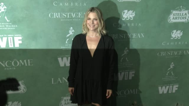 ali larter at the 11th annual women in film preoscar cocktail party at crustacean on march 02 2018 in beverly hills california - ali larter stock videos and b-roll footage