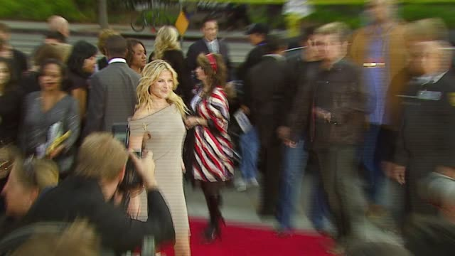 ali larter at the 2007 people's choice awards arrivals at the shrine auditorium in los angeles california on january 9 2007 - ali larter stock videos & royalty-free footage