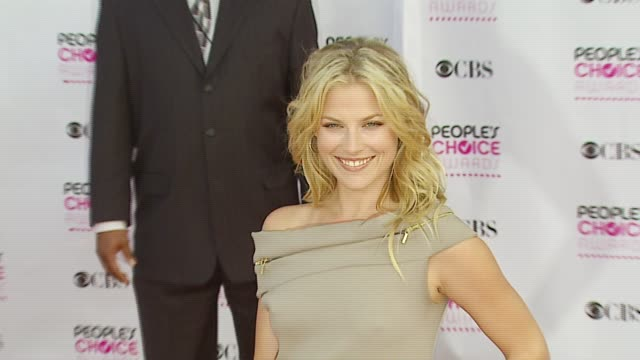 ali larter at the 2007 people's choice awards arrivals at the shrine auditorium in los angeles california on january 9 2007 - ali larter stock videos and b-roll footage