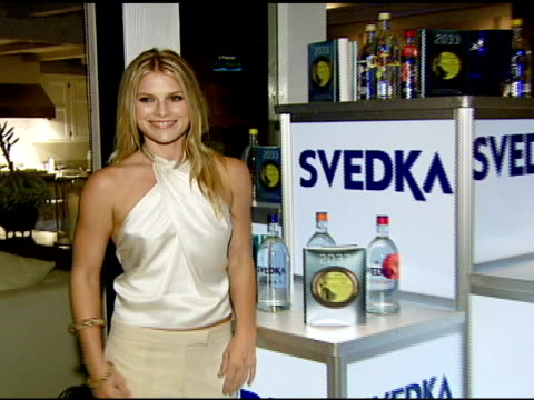 ali larter at the ali larter hosts the launch of 2033 the future of misbehavior at polaroid beach house in malibu california on august 3 2007 - ali larter stock videos & royalty-free footage