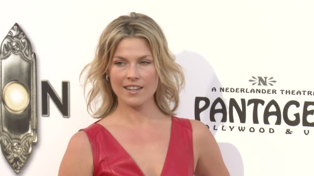ali larter at the book of mormon los angeles opening night on 9/12/12 in los angeles ca - mormonism stock videos & royalty-free footage
