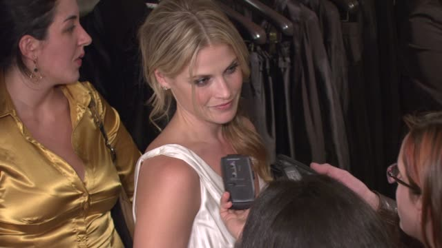 ali larter at the dkny delicious night fragrance launch party at 711 greenwich street in new york new york on november 7 2007 - ali larter stock videos & royalty-free footage