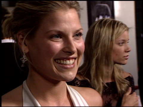 ali larter at the 'final destination 2' premiere at the cinerama dome at arclight cinemas in hollywood california on january 30 2003 - ali larter stock videos and b-roll footage