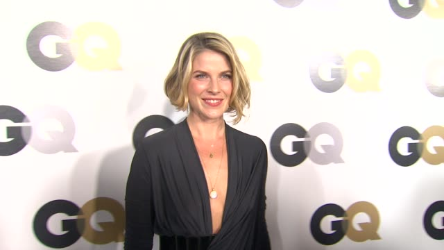 ali larter at the gq's 2011 'men of the year' party at los angeles ca - ali larter stock videos & royalty-free footage