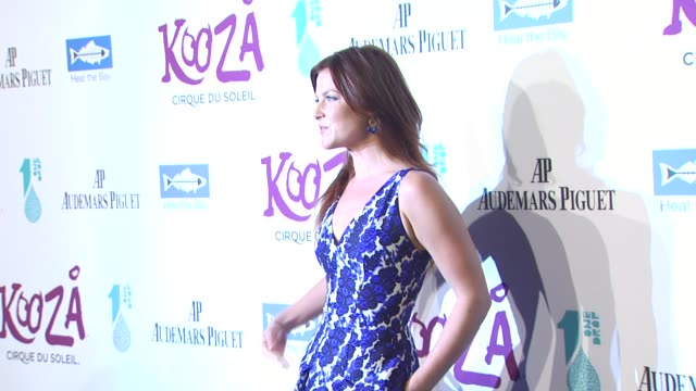 ali larter at the kooza opening night gala to benefit the one drop foundation heal the bay at santa monica ca - ali larter stock videos and b-roll footage
