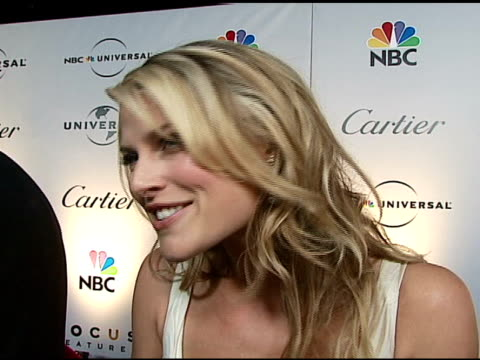 ali larter at the nbc universal and focus features 2007 golden globes party on january 15 2007 - ali larter stock videos and b-roll footage