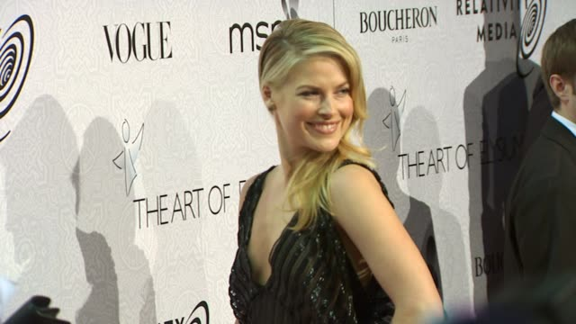 ali larter at the the art of elysium's 3rd annual black tie charity gala 'heaven' at beverly hills ca - ali larter stock videos & royalty-free footage