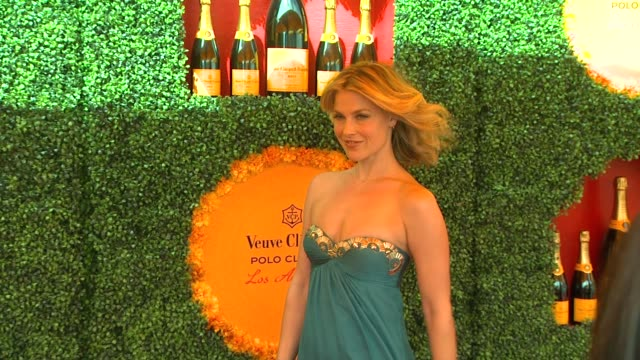 ali larter at the third annual veuve clicquot polo classic los angeles at will rogers state historic park on 10/6/12 in los angeles california - ali larter stock videos & royalty-free footage