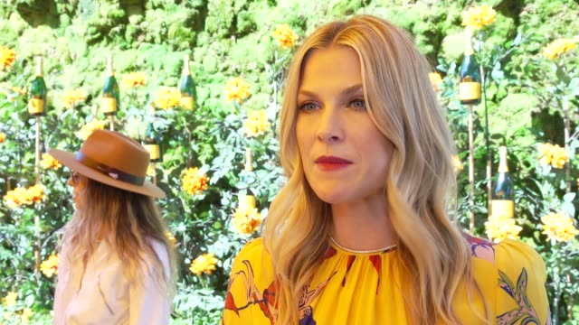interview ali larter on what brings her to the vc polo classic talks about her polo look at the 10th annual veuve clicquot polo classic los angeles... - ali larter stock videos & royalty-free footage