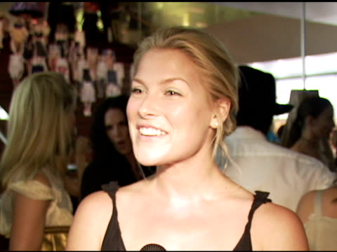 ali larter wearing prada on the classic nature of prada on the style and the investment on why she loves to wear prada on prada bags at the los... - ali larter stock videos and b-roll footage