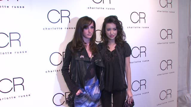 Ali Lohan and Christian Serratos at the Charlotte Russe Fall 2009 Launch Event at New York NY