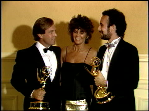 ali macgraw at the 1986 technical emmy awards at the pasadena civic auditorium in pasadena, california on september 14, 1986. - ali macgraw stock-videos und b-roll-filmmaterial