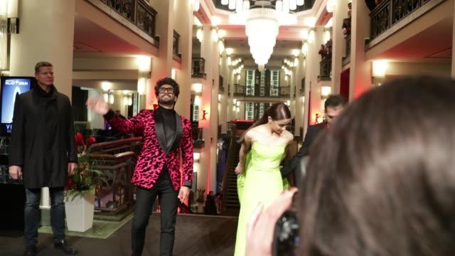 Alia Bhatt and Ranveer Singh at 'Gully Boy' Premiere 69th Berlin Film Festival