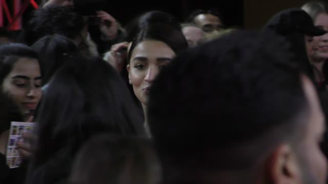 Alia Bhatt attends the 'Gully Boy' Premiere at the 69th Berlinale International Film Festival Berlin on February 9 in Berlin Germany The Berlin film...
