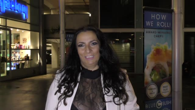 interview alice amter talks about her comments on sexual harassment cases outside arclight theatre in hollywood in celebrity sightings in los angeles - alice amter stock videos & royalty-free footage
