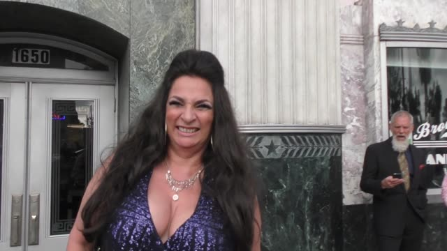 interview alice amter talks about life after the big bang theory and the pointer sisters outside the hollywood museum in hollywood in celebrity... - alice amter stock videos & royalty-free footage
