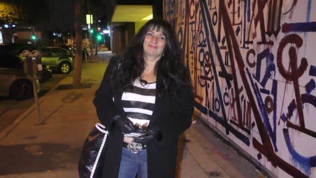 interview alice amter talks about the coronavirus affecting the film industry outside craig's restaurant in west hollywood in celebrity sightings in... - alice amter stock videos & royalty-free footage