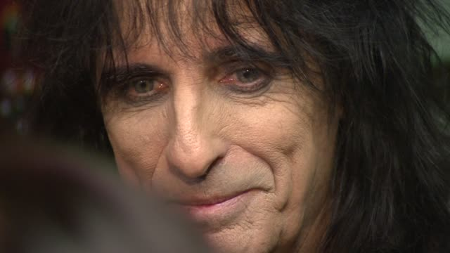 Alice Cooper at the Classic Rock Roll of Honour 2008 Nominations Launch at London