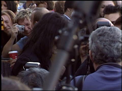 stockvideo's en b-roll-footage met alice cooper at the dediction of alice cooper's walk of fame star at the hollywood walk of fame in hollywood, california on december 2, 2003. - alice cooper