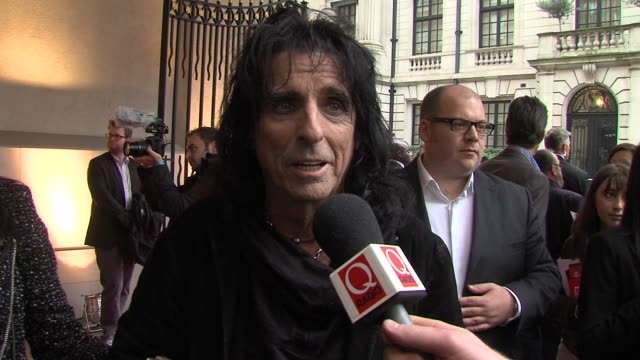 Alice Cooper at The Q Awards 2012 at The Grosvenor House Hotel on October 22 2012 in London England
