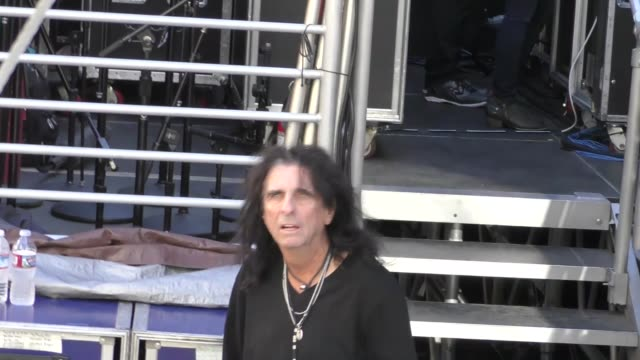 Alice Cooper outside Jimmy Kimmel Live in Hollywood in Celebrity Sightings in Los Angeles