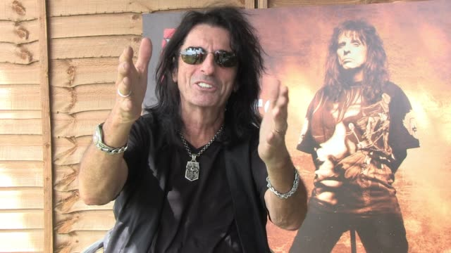 Alice Cooper talks about his search for acts to join him on his Halloween Night Of Fear shows and his upcoming album launch INTERVIEW Alice Cooper at...