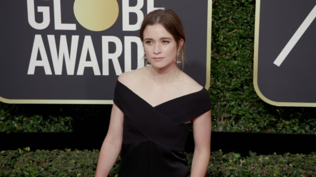 Alice Englert at the 75th Annual Golden Globe Awards at The Beverly Hilton Hotel on January 07 2018 in Beverly Hills California