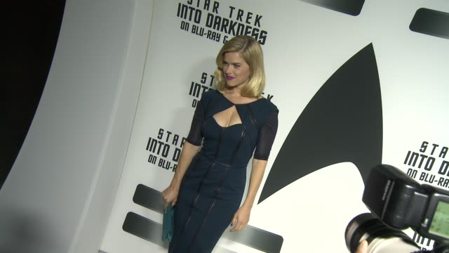 Alice Eve at Star Trek Into Darkness Bluray And DVD Release on 9/10/2013 in Los Angeles CA