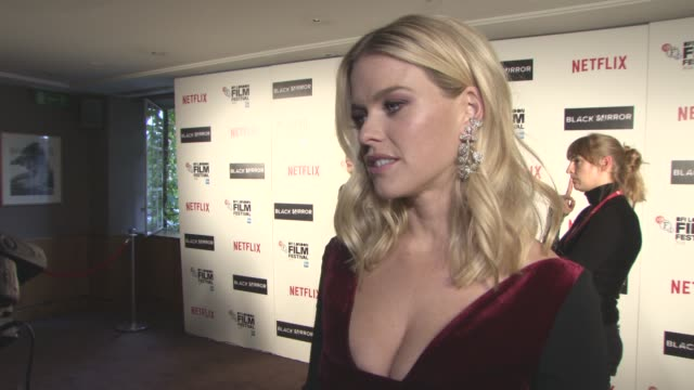 INTERVIEW Alice Eve on bring the series to the London Film Festival the episode she features in bring the series to Netflix not being into binge...