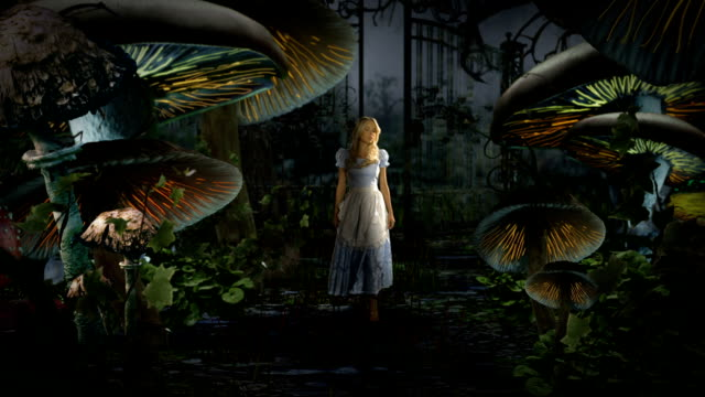 alice in wonderland - fantasy stock videos & royalty-free footage