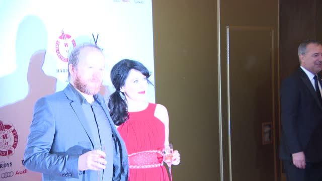 stockvideo's en b-roll-footage met broll alice lowe and steve oram at london critics circle awards - criticus