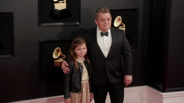 alice oswalt and patton oswalt at the 61st grammy awards - arrivals at staples center on february 10, 2019 in los angeles, california – editorial use... - editorial stock videos & royalty-free footage