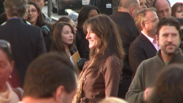 alicia coppola at the 'the bucket list' premiere at the cinerama dome at arclight cinemas in hollywood, california on december 16, 2007. - bucket list stock videos & royalty-free footage