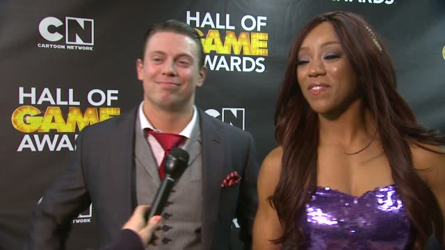 INTERVIEW Alicia Fox and Michael 'The Miz' Mizanin on the event on Colin Kaepernick and Cam Newton on the Olympics and on their favorite cartoons at...