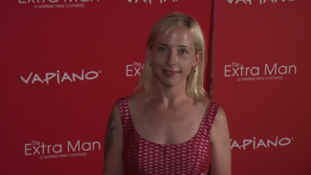 Alicia Goranson at the 'The Extra Man' New York Premiere at New York NY