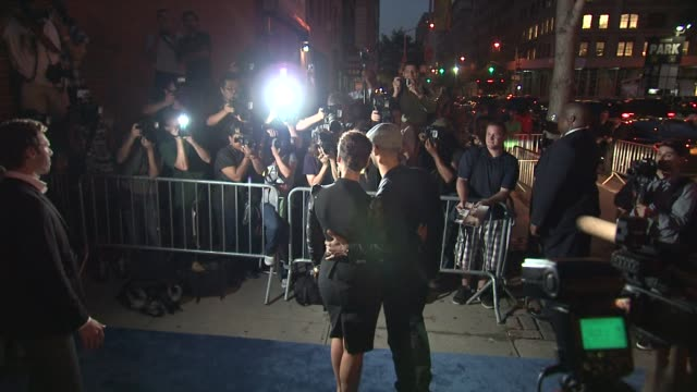 Alicia Keys and Swizz Beatz at the 'Premiere Of Lifetime's Five From Jennifer Aniston Demi Moore Alicia Keys' at New York NY