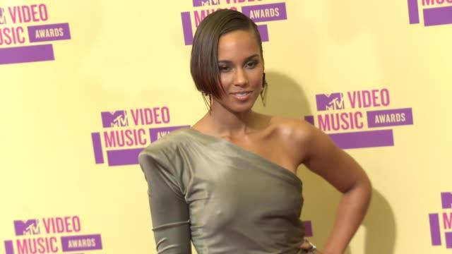 Alicia Keys at 2012 MTV Video Music Awards on 9/6/2012 in Los Angeles CA
