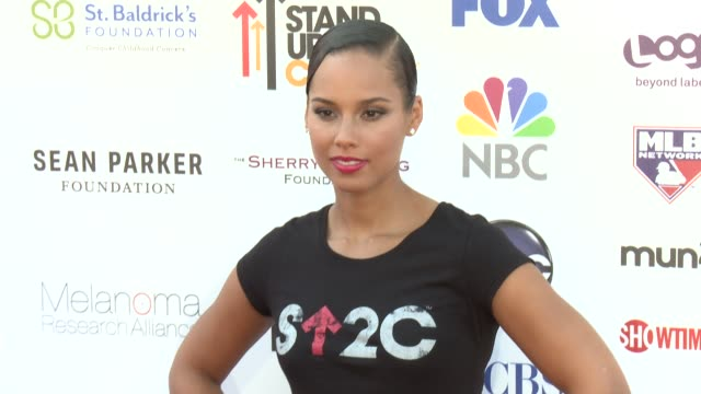 Alicia Keys at 2012 Stand Up To Canceron 9/7/2012 in Los Angeles California