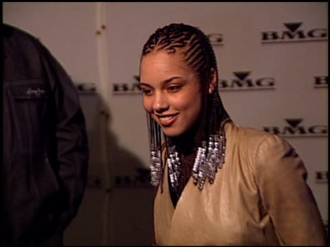 Alicia Keys at the BMG Grammy Awards Party at Miracle Mile Wilshire in Los Angeles California on February 21 2001